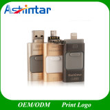 3 in 1 azionamento ad alta velocità dell'istantaneo del USB del telefono della spina OTG per l'IOS di iPhone ed il Android