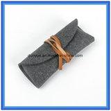 Просто шерсти OEM фабрики чувствовали вскользь сумку, малая выдвиженческая упаковка подарка носят мешок