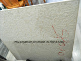 Mattonelle bianche pure della buona di disegno di Foshan 80X80 del corpo porcellana piena del marmo