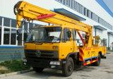 4X2 het luchtVoertuig van de Lift van de Arbeider 22 van de Hoge Hoogte Meters van de Vrachtwagen van de Verrichting