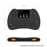 Teclado sin hilos 2.4G del ratón de la mosca H9 Mini teclado sin hilos para Samsung Smart TV