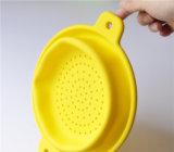 Panier de drainage en silicone pliable pour ménage créatif