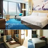 Möbel-Hotel-modernes Fünf-Sterneteakholz-hölzernes Hotel-Möbel-Bett