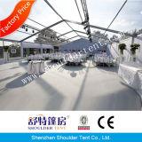 販売のための防水明確な上の白い結婚披露宴のテント