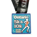 De médaille faite sur commande de module de finition de la médaille 10k de marathon de la médaille 5k de marathon demi