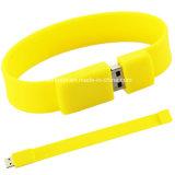 De rubber Stok van Pendrive USB van de Manchet van het Geheugen van de Armband USB van de Aandrijving van de Flits USB