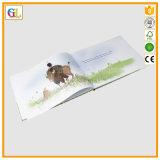 Impresión del libro de niños del Hardcover de la alta calidad (OEM-GL006)
