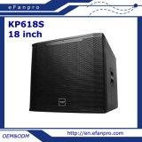 Populair kies Professionele Spreker Subwoofer van de Apparatuur van 18 Duim de Audio (KP-618S) uit