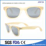 Claro cores personalizadas de lentes de óculos de sol polarizado mulheres
