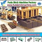 Fuda 기계장치의 작은 이동할 수 있는 유압 구체적인 빈 벽돌 기계