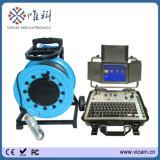 360 Camera van kabeltelevisie van de Omwenteling van de Schuine stand van de Mening van de graad de Pan Onderwater, Camera Borewell voor de Put van het Water, de Pijp van de Boor, Borescope Inspectie