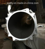Tuyauterie/tube/pipe en aluminium/en aluminium d'extrusion personnalisée par Al-6063/6063