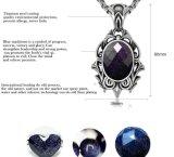 Blue Sandstone Necklace Pendant Accessoires de mode Bijoux Femmes