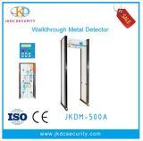 Detector de metales entrelazado de la alarma de la luz de la columna de seis regiones de la detección