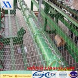 Cerca revestida da ligação Chain do tênis do PVC (XA-CL026)