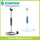 Fone de ouvido de Bluetooth do metal dos auriculares do esporte V4.1 Bluetooth para todos os telefones