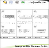 Dissipatore di calore di alluminio cinese dell'espulsione del materiale da costruzione della lega di alluminio