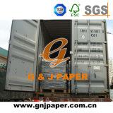 Sin estucar Woodfree Pirnting de alta calidad en la hoja de papel