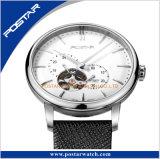 指標日本アーチ形にされた自動腕時計が付いている贅沢な半球形のダイヤル