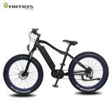 Vélo électrique de grosse montagne de pneu avec le MI moteur d'entraînement de Bafang