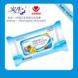 OEM voor Antibacterieel Individueel Nat Pak veegt het Weefsel van de Handdoek af
