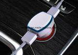 Prijs 2 van de fabriek in 1 Dubbele Lader van de Auto USB met LEIDENE Indicator