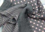 Scialle professionale della stampa del punto della fabbrica, sciarpa viscosa per il formato 70*180cm delle donne