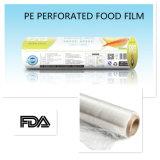 Le PE transparent d'extension de protection extérieure faite sur commande s'attachent film d'enveloppe pour la nourriture
