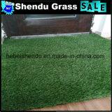 130stitch por o tapete 18mm da grama verde de baixa densidade do medidor