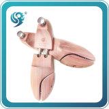 Venta al por mayor de madera elástico del árbol del zapato de la promoción