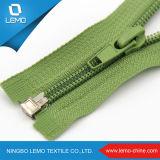 # 3 Zipper de nylon com plástico Stopper Open End Auto Lock