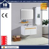 Горячая продавая мебель шкафа ванной комнаты лака MDF белая для гостиницы