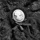 Ly-060 Hallowmas Festival Lolita Flor Emroidery Capa de renda de colarinho alto