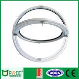 Guichet rond d'alliage d'aluminium avec le double vitrage