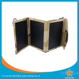 Солнечный заряжатель заряжателя 14W складной солнечный с USB без батареи