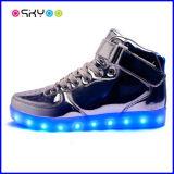 Schoenen van LEIDENE de Lichtgevende het Laden USB Lichten