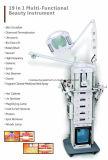 Fréquence 19 dans 1 machine faciale galvanique ultrasonique multifonctionnelle de beauté de soin