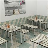 HPL lamellenförmig angeordneter Gaststätte-Tisch mit Bullnose Rand