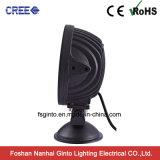 7pulgadas 4D CREE luz LED de trabajo, 12/24V de la luz de coche