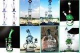 Großverkauf verbogener Faberge Ei-Anlage-Schädel-Bienenwabe-Recycler-Filtrierapparat färbt rauchendes Wasser-Glasrohr