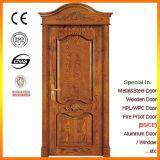 フォーシャンのローマのヘッド工場E151195が付いている贅沢な固体木のドア