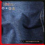 tela de confeção de malhas da sarja de Nimes da cor 320g azul para a senhora Pingamento