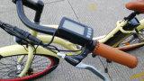 bici eléctrica Pedelec de la visualización del LCD de la batería de litio 36V con En15194, E-Bici del crucero de la playa