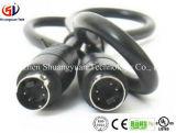 Подгонянный удлинительный кабель шнура 6 Pin s видео- для автомобиля DVR/камеры/монитора
