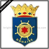 Quality Metal medalla insignia para el regalo promocional (BYH-10391)