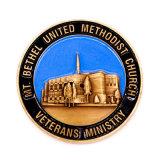 Moneda personalizada del desafío del oro del recuerdo de la ceremonia