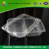 使い捨て可能で明確な透過プラスティック容器
