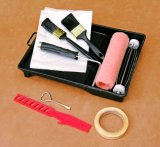 """9 """" главный комплект ролика краски инструментов 8PCS картины набора ролика краски"""