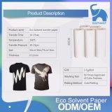 Taille foncée/légère imprimable de vente chaude de roulis de papier d'Eco Sovlent pour Roland/Mimaki