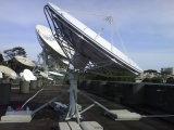 antena satélite fixa de Rxtx da estação de terra de 4.5m